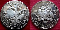 2 Долар Барбадос