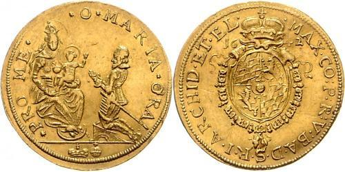 2 Дукат Баварія (курфюрство) (1623 - 1806) Золото