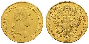 2 Дукат Священная Римская империя (962-1806) Золото Joseph II, Holy Roman Emperor  (1741 - 1790)