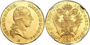 2 Дукат Священна Римська імперія (962-1806) Золото Joseph II, Holy Roman Emperor  (1741 - 1790)