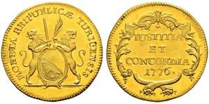 2 Дукат Швейцария Золото
