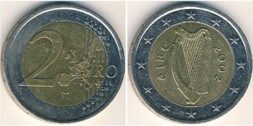 2 Евро Ирландия (1922 - ) Биметалл