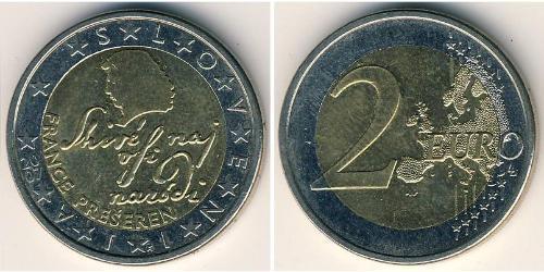 2 Евро Словения Биметалл
