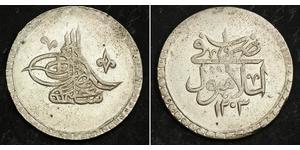 2 Куруш Османська імперія (1299-1923) Срібло Selim III