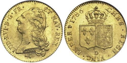 2 Луидор Франция / Королевство Франция (843-1791) Золото Людовик XVI (1754 - 1793)