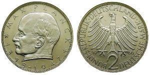 2 Марка ФРГ (1949-1990) Никель/Медь