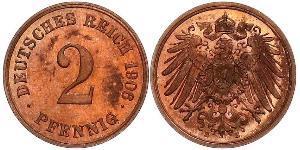 2 Пфенниг Германия Бронза