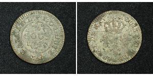 2 Су Французская Гвиана Медь Людовик XVI (1754 - 1793)