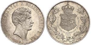 2 Талер Брауншвейг (герцогство) (1815 - 1918) Серебро Вильгельм Брауншвейгский