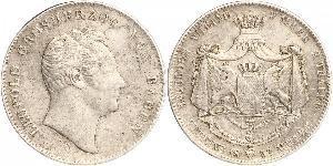 2 Талер Великое герцогство Баден (1806-1918) Серебро Леопольд (великий герцог Баденский)(1790 – 1852)