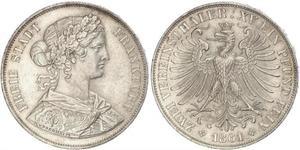 2 Талер Федеральные земли Германии Серебро