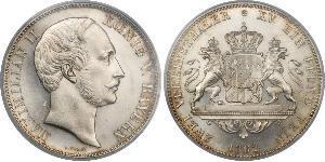 2 Талер Баварія (курфюрство) (1623 - 1806) Срібло