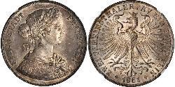 2 Талер Федеральні землі Німеччини Срібло