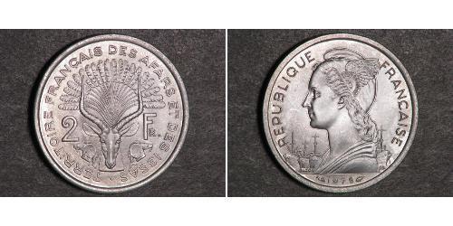 2 Франк Франция Серебро