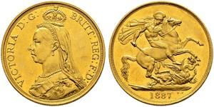 2 Фунт Велика Британія  Золото Вікторія (1819 - 1901)