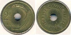2 1\2 Kurush Turkey (1923 - )