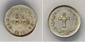 2 1/2 Centavo Dominican Republic