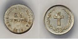 2 1/2 Centavo Dominikanische Republik