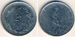 2 1/2 Lira Türkei (1923 - )