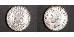 2 1/2 Shilling Südafrika Silber Georg VI (1895-1952)