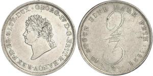 2/3 Thaler States of Germany Plata