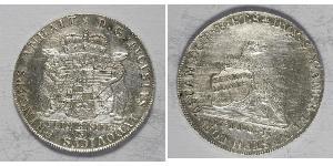 2/3 Thaler Principality of Anhalt-Köthen (1603 -1853) Silver Augustus Louis, Prince of Anhalt-Köthen (1697 – 1755)