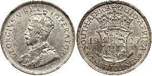 2.5 Шиллинг Южно-Африканская Республика Серебро Георг V (1865-1936)