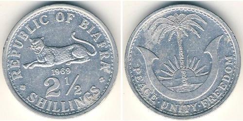 2.5 Шилінг Republic of Biafra (1967-1970) Алюміній