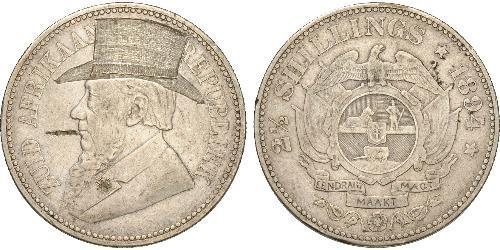 2.5 Шилінг Південно-Африканська Республіка Срібло