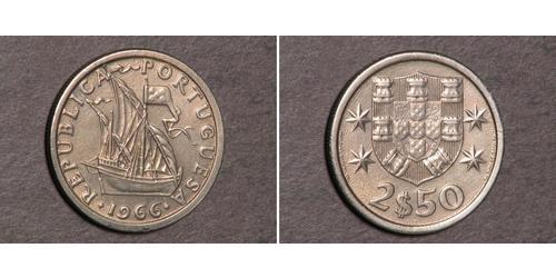 2.5 Эскудо Португалия