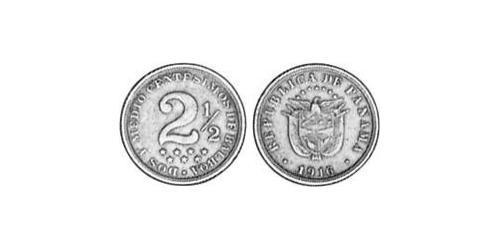 2.5 Centesimo 巴拿马 銅/镍
