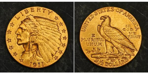 2.5 Dollar États-Unis d