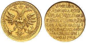 2.5 Ducat 俄罗斯沙皇国 (1547 - 1721) 金