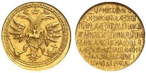 2.5 Ducat Tsardom of Russia (1547-1721) Gold