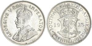 2.5 Shilling South Africa 銀 乔治五世  (1865-1936)