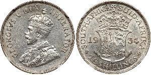 2.5 Shilling Afrique du Sud Argent George V (1865-1936)