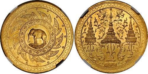 2 Baht Thailand Gold