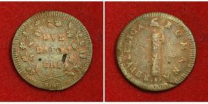 2 Baiocco Stato Pontificio (752-1870) Rame