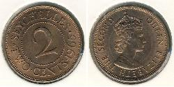2 Cent Seychellen Bronze