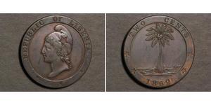 2 Cent Liberia