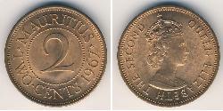 2 Cent Mauritius