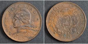 2 Centavo 阿根廷 銅