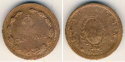 2 Centavo Argentinien (1861 - ) Bronze