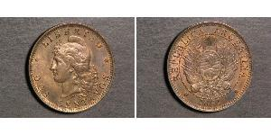 2 Centavo Argentina (1861 - ) Rame