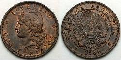 2 Centavo Argentinien (1861 - )