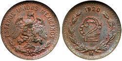 2 Centavo Mexiko (1867 - )