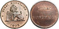 2 Centime Belgium Bronze