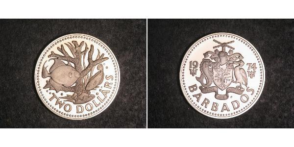 2 Dólar Barbados