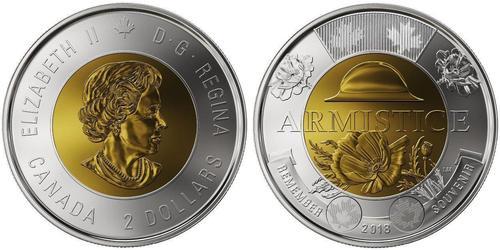 2 Dollar Canada Bimetal Elizabeth II (1926-)