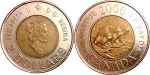 2 Dollar Canada Bronze Elizabeth II (1926-)